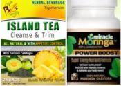 miracle moringa and island tea