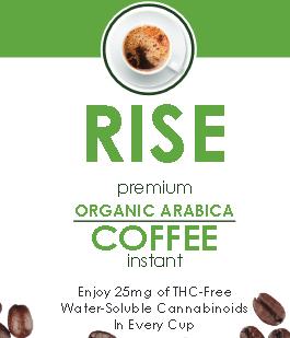 rise cbd coffee